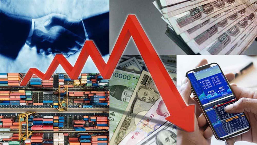 เศรษฐกิจโลกตกต่ำลง จากสถานการณ์โควิด-19